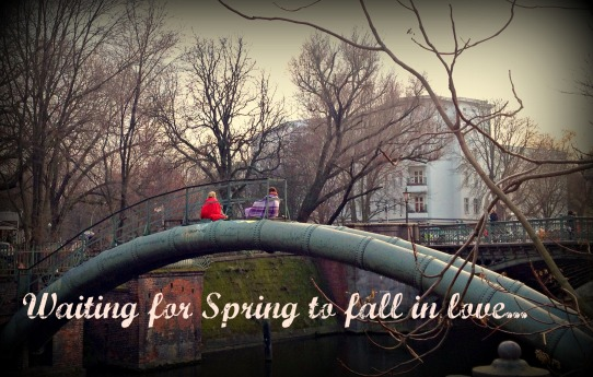 Waiting for the spring to fall in love...